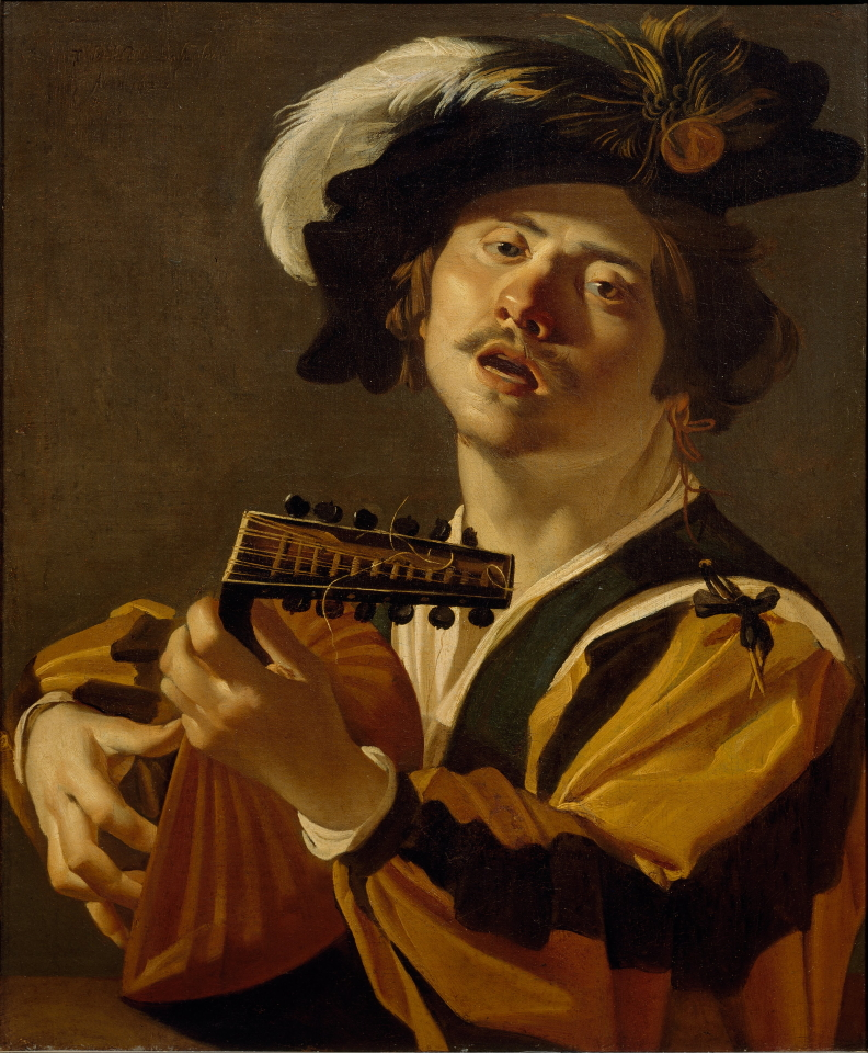 Dirck van Baburen - The Lute Player